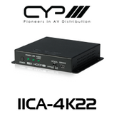 CYP HDMI Audio Embedder with built-in Repeater (4K, HDCP2.2, HDMI2.0)