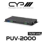 CYP HDBaseT 2.0 Slimline Transmitter / Receiver Up to 100m (4K, HDCP2.2, PoH, LAN, OAR)