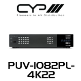 CYP 10x10 HDMI HDBaseT LITE Matrix with Audio Matricing (4K, HDCP2.2, HDMI2.0, PoH, OAR, 60m)