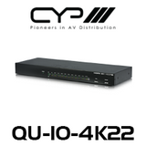 CYP 1 to 10 HDMI Distribution Amplifier (4K, HDCP2.2, HDMI2.0)