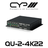 CYP 1 to 2 HDMI Distribution Amplifier (4K, HDCP2.2, HDMI2.0)