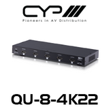 CYP 1 to 8 HDMI Distribution Amplifier (4K, HDCP2.2, HDMI2.0)