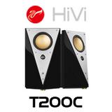 "Swans T200C 5"" Active Filter Professional Studio Monitor Speakers (Pair)"