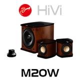 Swans M20W 2.1 Powered Multimedia Speaker System