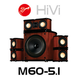 Swans M20-5.1MKII 5.1 Multimedia Home Theater Speaker System
