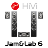 Swans Jam&Lab6HT 5.0 Home Theater System