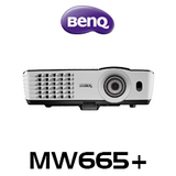 BenQ MW665+ WXGA 3200 Lumen Wireless Business DLP Projector
