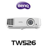 BenQ TW526 WXGA 3200 Lumens Portable DLP Projector