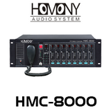 Homony HMC-8000 8x8 Audio Matrix Controller & Amplifier