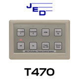 JED T470 AV / Projector Controllers