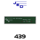 JED 439 2-Channel USB Switcher