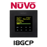 "NuVo I8GCP 2.7"" Dual Gang OLED Control Pad"