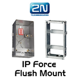 2N Helios IP Force Brick & Plasterboard Flush Mount Boxes