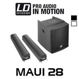 """LD Systems MAUI28 Dual 8"""" 1600W Compact Column PA System"""