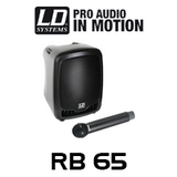 "LD Systems RB65 RoadBoy 6.5"" Battery Powered Portable PA Speaker"