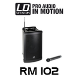 "LD Systems RM102 RoadMan 10"" Battery Powered Portable PA Speaker"