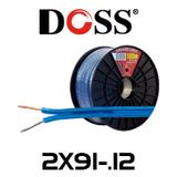 Doss 17 AWG 2 Core Medium Duty Speaker Cable - 100m Roll