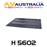 "AVA 450 / 600mm Deep 19"" Rack Frame Louvered Top Panel"