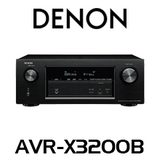 Denon X3200B 7.2-Ch Dolby Atmos DTS:X Integrated AV Receiver
