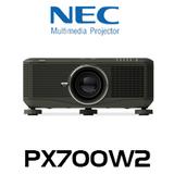 NEC PX700WG2 DLP 7000 Lumen WXGA Professional Installation Projector w/o Lens