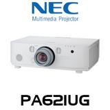 NEC PA621UG LCD 6200 Lumen WUXGA Professional Installation Projector w/o Lens