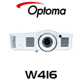 Optoma W416 WXGA 4500 Lumens Medium Venue DLP Projector