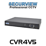 SecurView 4 Channel Professional 1080p HDCVI Digital Video Recorder