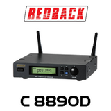 Redback C8890D UHF Wireless Microphone System 700 Channel Receiver