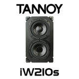 "Tannoy iW210s 10"" 500W In-Wall Subwoofer (Each)"