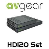 AVGear HD120 Ultra 4K HDBaseT Slimline IR & HDMI Extender Lite