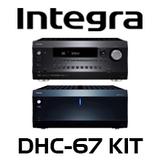 Integra DHC-60.7 7.2 Ch A/V Preamp + DTA-70.1 Amplifier Kit