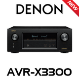 Denon X3300 7.2-Ch 4K Dolby Atmos DTS:X Integrated A/V Receiver