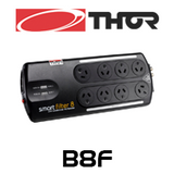 Thor B8F 8 Way Smart Filter Surge Protector With Cascade Filtering