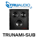 "TruAudio TRUNAMI-SUB 8"" Cellulose Composite Woofer with Passive In-Wall Subwoofer"