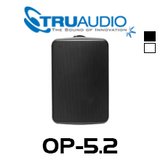 "TruAudio OP-5.2 5.25"" Injected Poly Weather Proof Outdoor Speaker With Bracket (Each)"