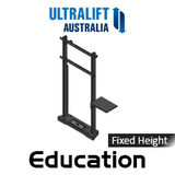 "Ultralift Education 60-90"" Flat Display Fixed Height Floor Stand"