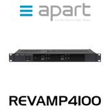 Apart REVAMP4100 4-Channel 100W Bridgeable Digital Amplifier