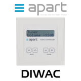 Apart DIWAC Digital Programmable Wall Control For AC12.8 / AS8.8
