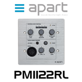 Apart PM1122RL Wall Control Panel With Local Input For PM1122