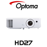 Optoma OP-HD27 Full HD 3D High Brightness Home Theatre DLP Projector