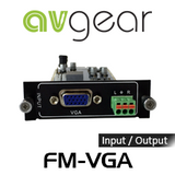 AVGear FM-VGA FMX Seamless VGA Input / Output Card