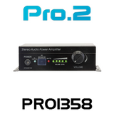 Pro2 PRO1358 Stereo Audio Power Amplifier