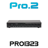 Pro2 PRO1323 4 Source 4 Zone Stereo Audio Power Amplifier