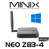 MINIX NEO X83-4 4K 64-bit WIndows 10 Fanless Mini PC