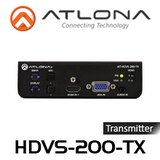 Atlona HDMI & VGA Switcher With Ethernet-Enabled HDBaseT Output (Up to 100m)