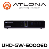 Atlona 4K UHD, 5-Input HDMI Switcher with 2 HDBaseT Inputs & Mirrored HDMI / HDBT Outputs