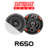 """Earthquake R650 6.5"""" RCS Reference In-Ceiling Speakers (Pair)"""