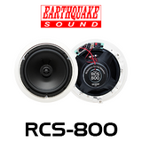 """Earthquake RCS800 8"""" RCS Reference In-Ceiling Speakers (Pair)"""