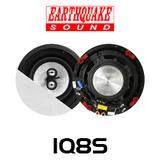 "Earthquake IQ8S 8"" Edgeless In-Ceiling Speakers (Pair)"