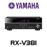 Yamaha RX-V381 5.1-CH Bluetooth 4K AV Receiver